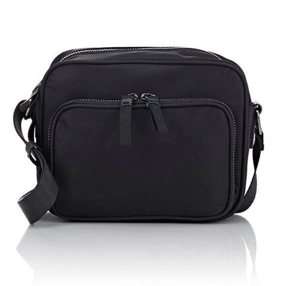 Barneys NY lightweight zip mini nylon camera bag de924a1dd803e